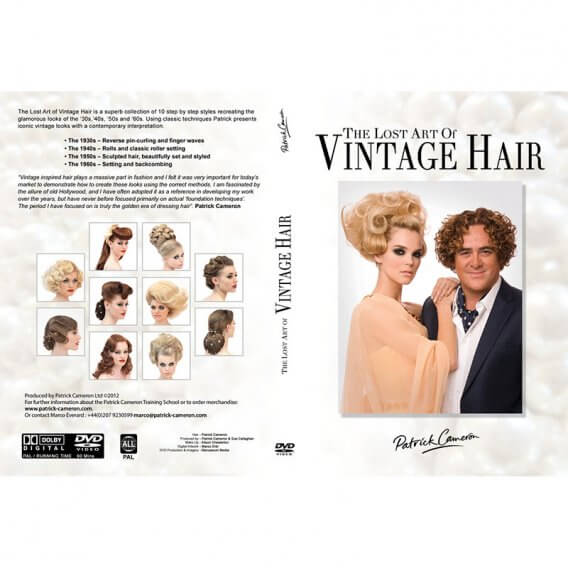 Patrick Cameron The Lost Art of Vintage Hair DVD