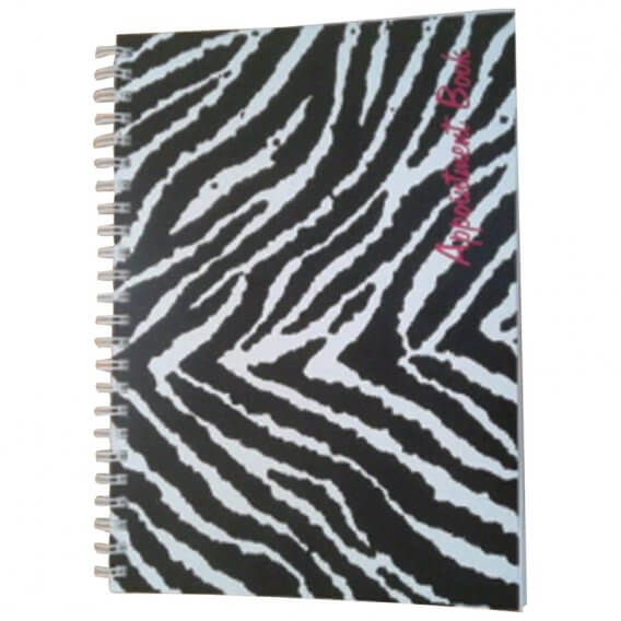 Freelance Zebra Appointment Book