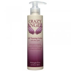 CRAZY ANGEL Midnight Kiss Tanning Lotion 8% 200ml
