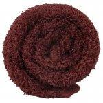 Lotus Classic Hair Towel Bitter Chocolate x12