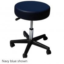 Affinity Rolling Stool - Biscuit