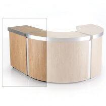 REM Helix Straight Reception Desk