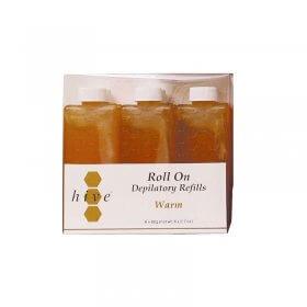 Options by Hive Roller Depilatory Refills Warm Honey Wax 80g x 36
