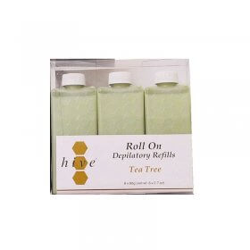 Options by Hive Roller Depilatory Refills Tea Tree Wax 80g x 36