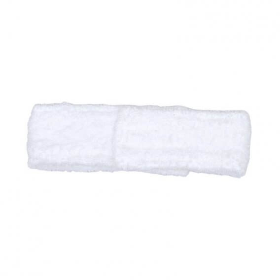 Terry Headband White