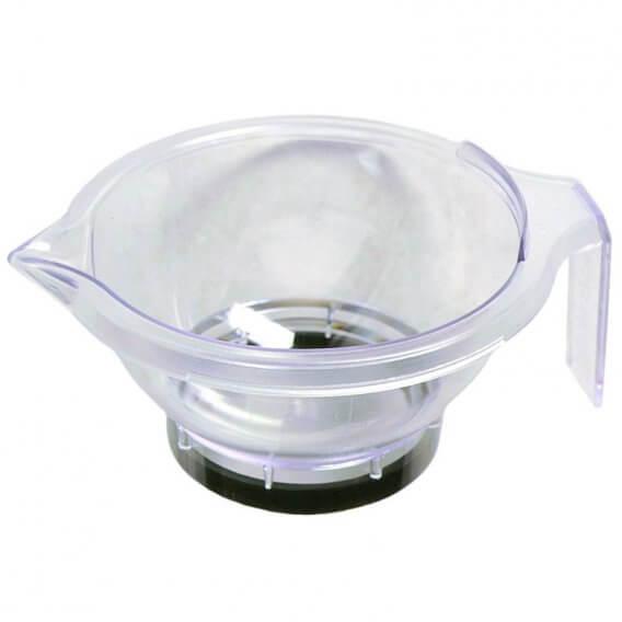 Hair Tools Acrylic Tint Bowl Clear x 1