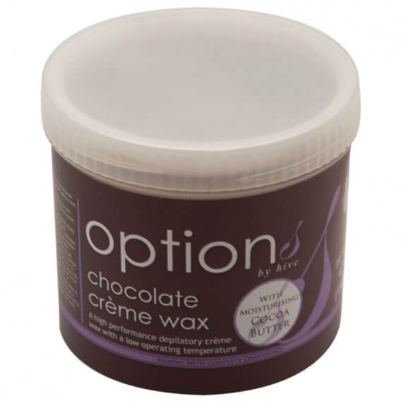 Options by Hive Chocolate Creme Wax 425g
