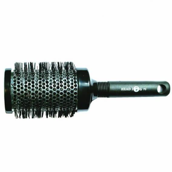 Head Jog Heat Retainer No.70 Silver 70mm Brush