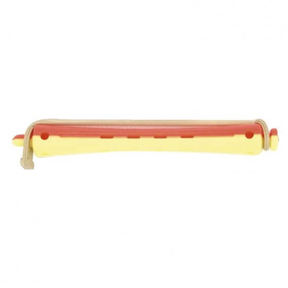 Sibel Two-Tone Vent Perm Rod/12 Long Yellow/Red