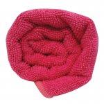 Lotus Microfibre Hair Towel Hot Pink x12
