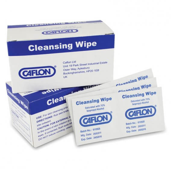 Caflon Cleansing Wipes x100
