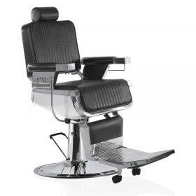 Lotus Raleigh Barber's Chair Black