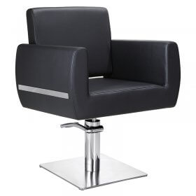 Lotus Austin Square Styling Chair Black