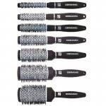 Pro Tip Set of 7 Ceramic Hot Curl Brushes