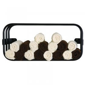 Lotus Uno Towel Rack Black