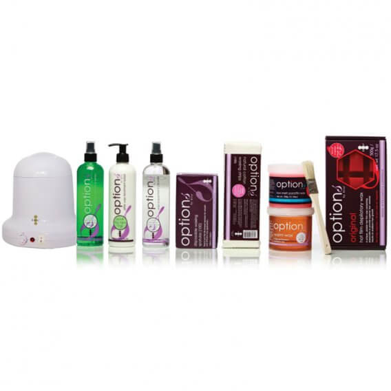 Options Dome Student Waxing Starter Kit
