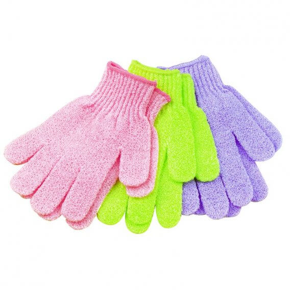 Sibel Exfoliating Gloves in Assorted Colours