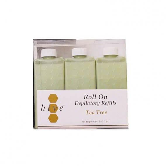 Options by Hive Roller Depilatory Refills Tea Tree Wax 80g x 36
