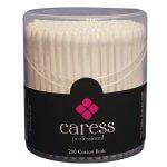 Caress Professional Cotton Buds Plastic Stem x 200