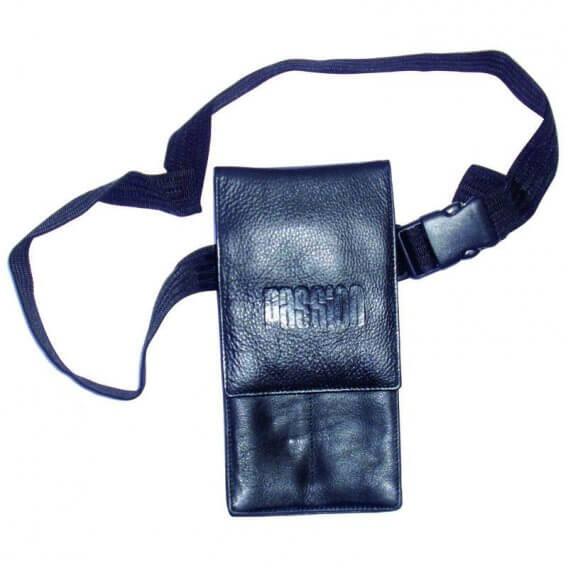 Passion Leather Pouch Long Black