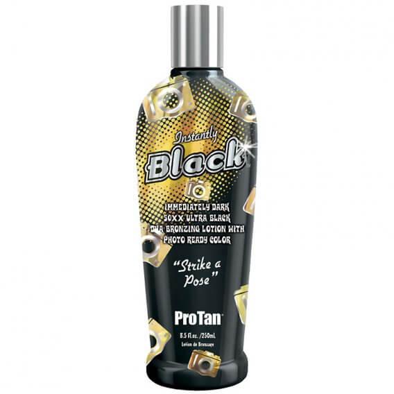 Pro Tan Instantly Black Bottle 250ml Tanning Accelerator