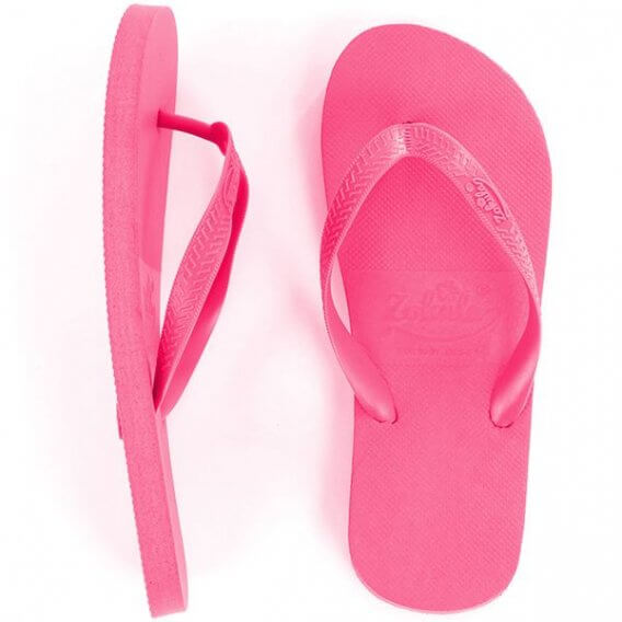 Pink Flip Flops Small (3-4) 10 pairs