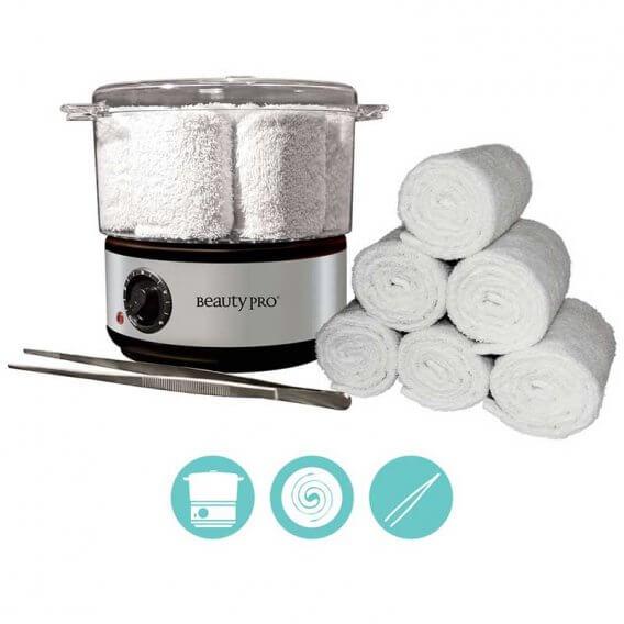 BeautyPro Mini Hot Towel Steamer Kit