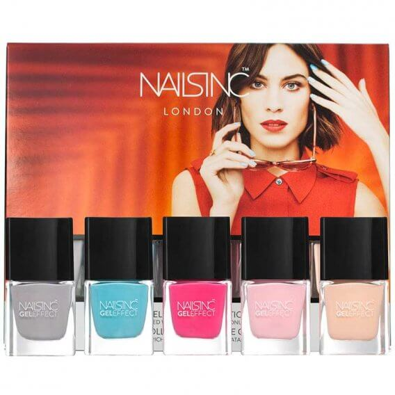 Nails Inc Coconut Brights Mini Gel Effect Nail Polish Collection