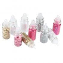 Sibel Nail Glitter Dust Kit 2 Pack of 10