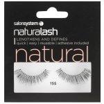 Salon System Naturalash 155 Black Strip Lashes