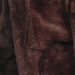 Ultrasoft Microfibre Fleece Blanket Bitter Chocolate