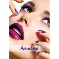 Nails Appointment Cards Pack of 100