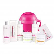 Lotus Essentials Waxing Starter Kit with 500cc Analogue Pink Heater
