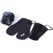Disposable Spray Tanning Kit Black