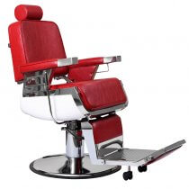 Lotus Raleigh Barber Chair Red