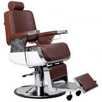 Lotus Raleigh Barber Chair Brown