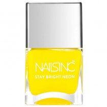 Nails Inc Stay Bright Neon Golden Lane Yellow Nail Polish 14ml