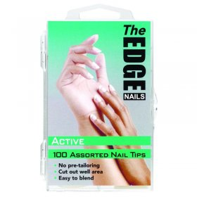 The Edge Active Tips x 100 Assorted. (Boxed)