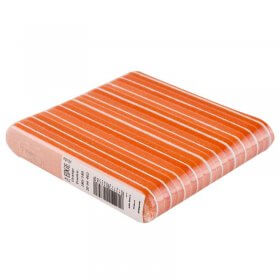 The Edge Foamie Files Orange/Orange 180/180 Grit Pk10