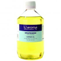L'aroma Grapeseed Carrier Oil 500ml