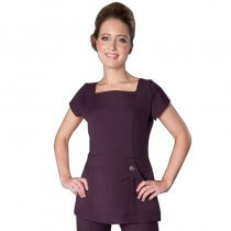 Enzo Tunic Plum by Florence Roby