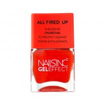Nails Inc Portland Square Gel Effect Nail Polish All Fired Up 14ml