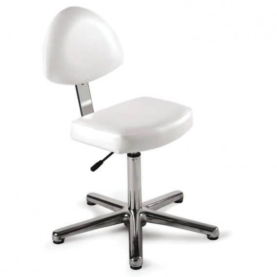 REM Nail Technicians Seat with Backrest