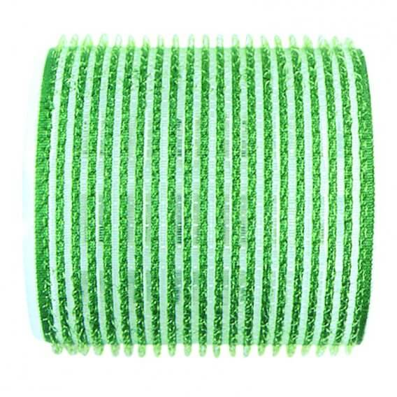 Sibel Jumbo Velcro Rollers Green 61mm x 6