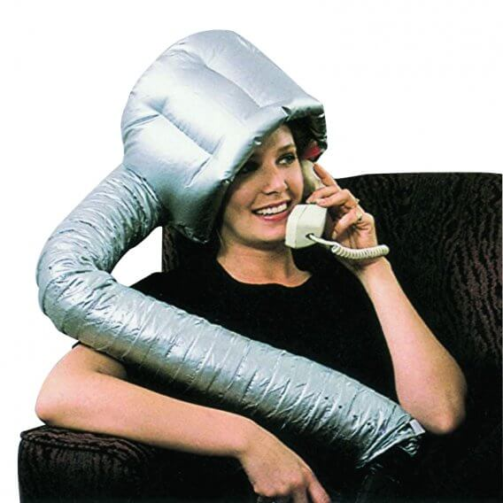 Sibel Portable Dryer Hood Silver