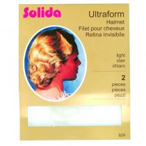 Solida Ultra Form Setting Hair Net Dark (2)