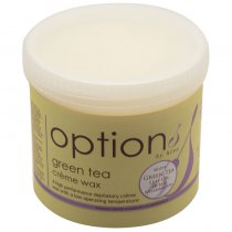 Options by Hive Green Tea Creme Wax 425g