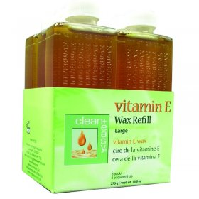 Clean + Easy Vitamin E Wax Refills 238g x 6
