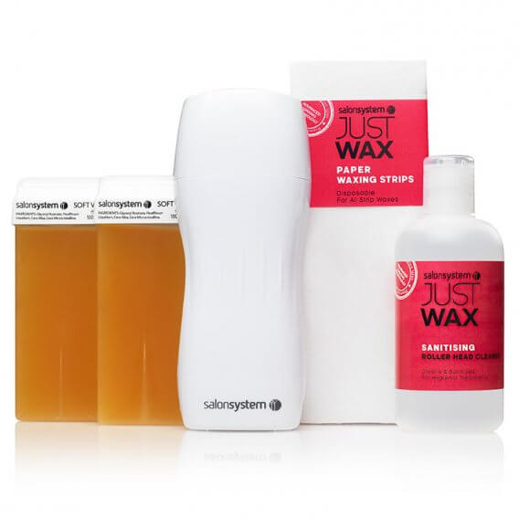 Just Wax Portable Roller Wax Kit
