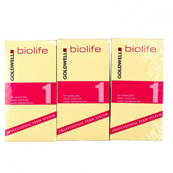 Goldwell Biolife X Resistant/Coarse Application x 3